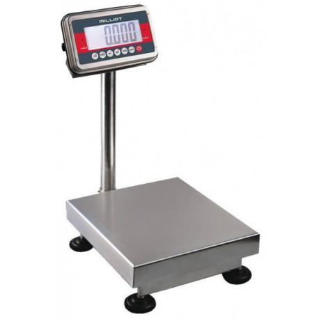 Balance inox modulaire 15 kg/2 g - 400x400 mm