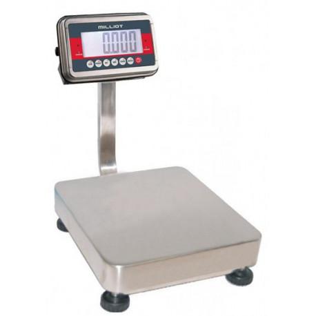 Balance inox modulaire 15 kg/1 g - 300x240 mm