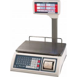 Balance poids prix 3 vendeurs avec ticket 15 kg/5 g - 365x235 mm