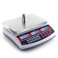 Balance poids prix bi-échelon 3-6 kg/1-2 g - 300x230 mm