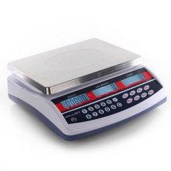 Balance compteuse robuste  30 kg/1 g - 230x300 mm