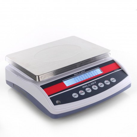 Balance de precision robuste 15 kg/0,1 g - 230x300 mm