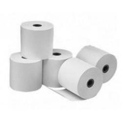 Carton de 50 bobines de papier thermique 57x46x12 mm