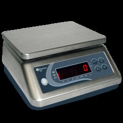 Balance inox compacte 6 kg/1 g - 190x230mm