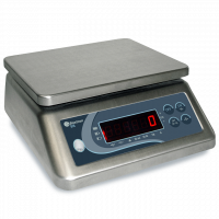 Balance inox compacte 30 kg/2 g - 190x230 mm
