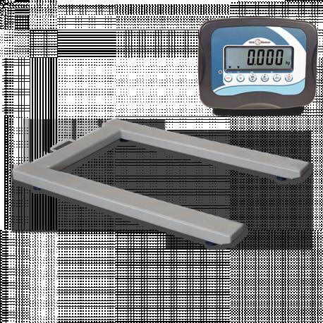 Pèse-palettes avec indicateur poids-tare