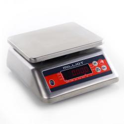 Balance inox compacte 15 kg/1 g - 190x230 mm