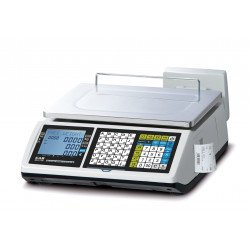 Balance poids prix avec ticket 15/30 kg - 5/10 g, conforme logiciel de caisse 2018