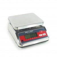 Balance inox homologuée bi-échelon - 15-25kg / 5-10 g - 230x190 mm