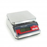 Balance inox homologuée bi-échelon - 3-6kg / 1-2g - 230x190 mm
