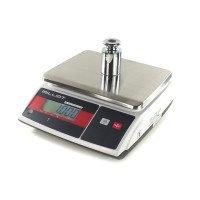 Balance de contrôle du poids homologuée - bi-échelon - 3-6kg / 1-2g - 204x263 mm