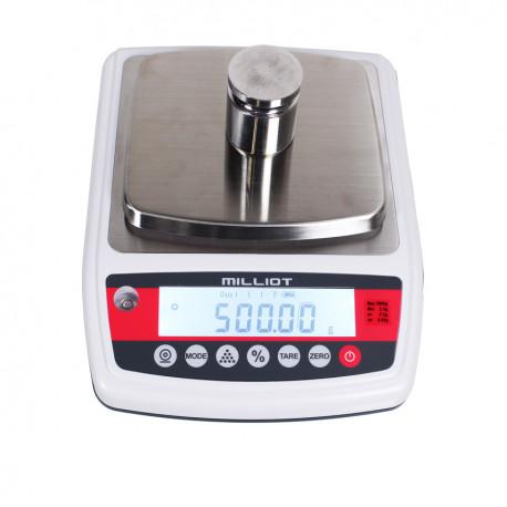 Balance de précision homologuée 3000 g/0,5 g - 140x150 mm
