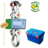 Dynamometre tri-échelon avec valise 1500 kg/500 g