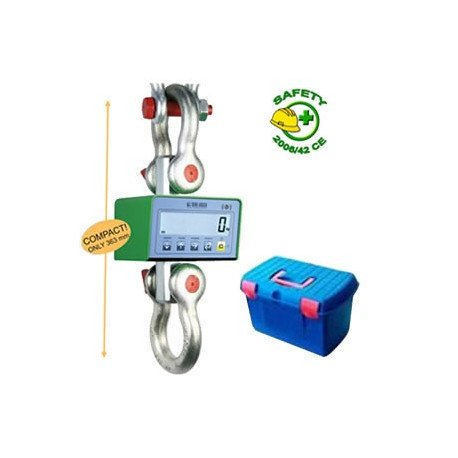 image cover Dynamometre tri-échelon avec valise 9500...