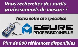 Visitez notre site d'outils professionnels - Mesure Professionnelle